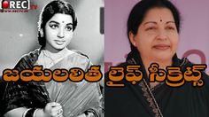 """Jayalalitha Life Secrets    Rare And Unknown facts about Jayalalitha """"AMMA"""""""