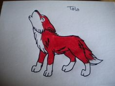 Chibi Tala Red Wolf by TalaRedWolf33 on deviantART