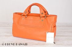 celine cotton handbag boogie