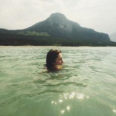 "tinyatlas on Instagram: ""Barrier Lake in Alberta morning dip anyone? #mytinyatlas from local girl @sherah_"""