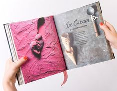The Good Life cookbook designed by design studio A Friend of Mine by the Chef Adrian Richardson of La Luna Restaurant Recipe Book Design, Cookbook Design, Cookbook Ideas, Cookbook Recipes, Fixate Cookbook, Making A Cookbook, Page Layout Design, Graphic Design Layouts, Cookie Recipes