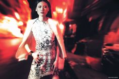 Photographer Andrew Akimov captures a nighttime shoot for FGR's latest exclusive starring model Fan Wang. Styled by Athena Wang, the dark-haired beauty poses on the city streets in elegant looks featuring the work of Victoria Beckham, Celine, Chloe and more. Ladylike dresses are contrasted with rocker chic jewelry for a seductive edge. For beauty, Fan …
