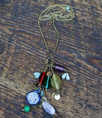 Bouquet necklace - glass from Noonday