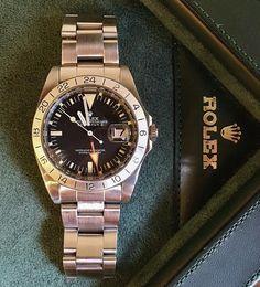 """Rolex Explorer II """"Steve McQueen"""" ref 1655. Complete with box & papers. In excellent condition   rolex watches for men   rolex horloge voor heren   rolex horloge voor mannen   vintage watches   vintage horloges   horloges heren   SpiegelgrachtJuweliers.com"""