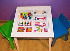 Ana White | Arts and Crafts Play Table - DIY Projects