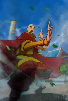 certainly not the last airbender by drazebot.deviantart.com