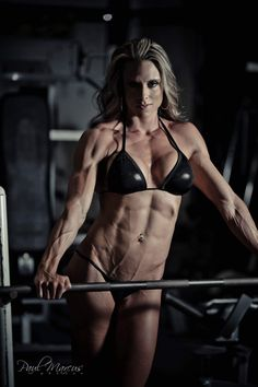 Perfect muscle goddesses
