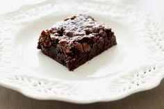Vegan & Gluten-Free Coconut Caramel Brownies Recipe.