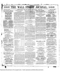 """ALL IN ONE BASKET."" That was the WSJ's front page headline on April 17, 1912 about the Titanic disaster.    ""Of the actual and direct cause of the Titanic disaster it is too early to speak..."" the story began. Click through to read."
