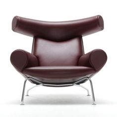 leather furniture: Oxchair EJ 100 | armchair . Sessel . fauteuil | Design: Hans J. Wegner | Erik Jørgensen |