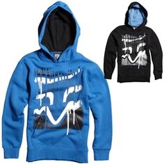 2013 Fox Racing Disaster Tap Youth Casual Motocross MX Apparel Insulated Hoody