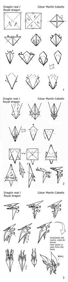 Origami On Pinterest Star Wars Origami Tutorial
