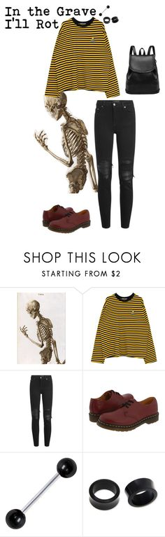 """""""Revenge- XXXtentacion"""" by burnttoasts on Polyvore featuring AMIRI, Dr. Martens and NOVICA"""