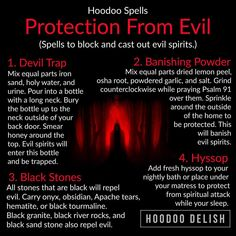Protection from evil Hoodoo Spells, Magick Spells, Wiccan Witch, Witch Spell Book, Witchcraft Spell Books, Symbole Protection, Witchcraft Spells For Beginners, Voodoo Hoodoo, Herbal Magic
