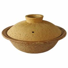 Ivory and Black Crackle 12-Inch Donabe Japanese Hot Pot Serves 5 to 6 People