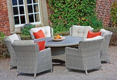 The Cannes range with its curvaceous shape and plush seat and back cushions features the perfect blend of comfort and style for your garden this summer. Outdoor Shop, Outdoor Decor, Garden Furniture, Outdoor Furniture Sets, Enjoy The Sunshine, Lifestyle Store, Dining Sets, Cannes, Fresco
