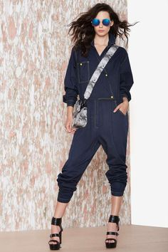 Vintage Worked Up Coveralls