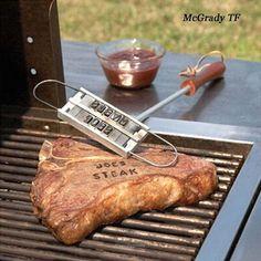 Bbq Grill, Bbq Steak, Meat Steak, Bbq Beef, Burger Branding, Branding Iron, Cake Branding, Box Branding, Diy Barbecue