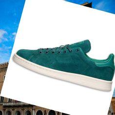 promo code 10e78 3fa0d Scarpe Traning Per Uomini, Adidas Stan Smith Verde Scuro Foamposite Triple
