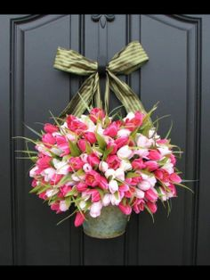 Inspired Wives: Inspiration for Spring Front Door Decor
