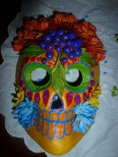 Dia De Los Muertos mask by Priscilla Daniels