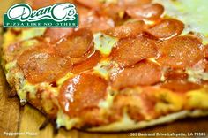 Rain, sleet or snow Dean-O's Pizza is always the best way to go. #EatLafayette