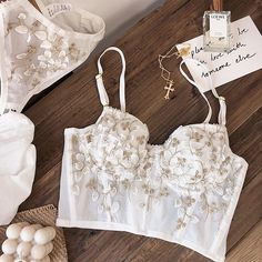 Bridal Lingerie, Pretty Lingerie, French Lingerie, White Lingerie, Glamour Lingerie, Lace Lingerie Set, Bh Set, Lingerie Outfits, Bra Styles