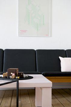 Iben Bach & Ulrik Bebe, Wood Funiture Maker, Published in the German magazine Couch, Stylist Stine Rosenborg