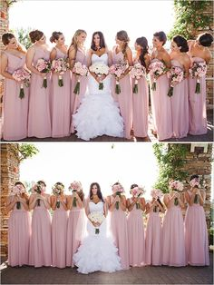Adorable 44 Bridemaids Outfit Ideas That Will make Everyone Look Amazing https://bitecloth.com/2017/10/05/44-bridemaids-outfit-ideas-will-make-everyone-look-amazing/