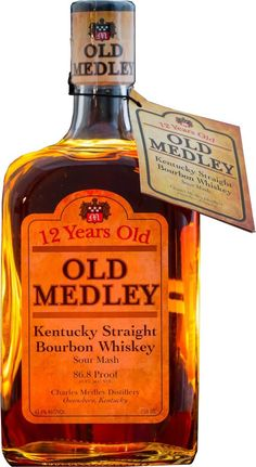 Caskers Selection: Medley 4 Year Old & Old Medley 12 Year Old Kentucky Straight Bourbon Whiskey Bourbon Drinks, Whiskey Sour, Scotch Whiskey, Bourbon Whiskey, Whiskey Trail, Irish Whiskey, The Distillers, Small Batch Bourbon, Whisky Bar