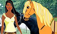 Vesti la fantina e il cavallo - Giochi Gratuiti per Ragazze su GirlsGoGames.it