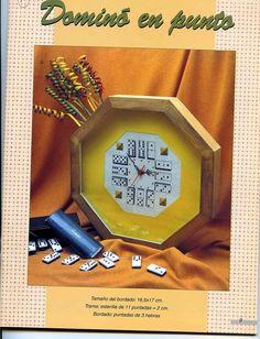 Relojes en punto de cruz (pág. 2) | Aprender manualidades es facilisimo.com