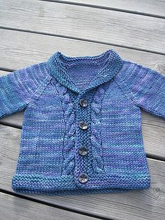 The Little Hipster Cardigan by Kate Gondwana