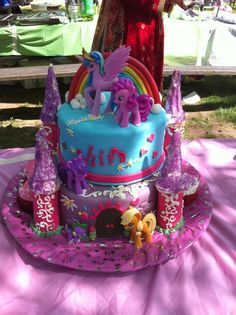 Image detail for -My little Pony cake by Nooreenrehan on Cake Central on we heart it ...