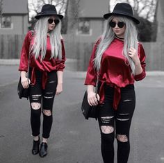 21 Looks: Valentines Day Outfit Inspiration > CherryCherryBeauty • Source: sammi_jackson / Instagram