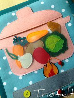 Tacho com vegetais