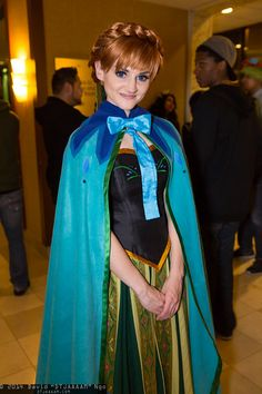 Anna from Frozen | Anime Los Angeles 2014 #cosplay