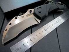 Custom-Claw-Straight-Knife154CM-blade-G10-handle-camping-hunting-knife-Cool