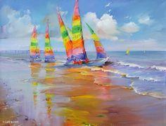 живопись маслом пейзажи картины море: 32 тыс изображений найдено в Яндекс.Картинках