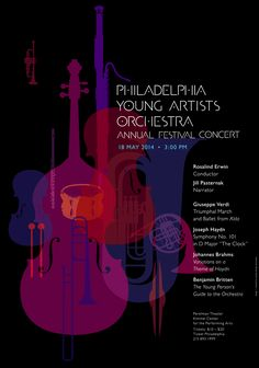 2014 May – Philadelphia Young Artists Orchestra Annual Festival Concert