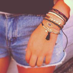 Multiple Bracelets Brazlian Bracelets