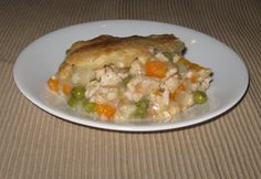 A warm, moist, delicious dish that your family will enjoy.  Turkey, veggies, potatoes, & a crusty top. You will be glad you whipped this easy meal up!