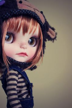 Ulma Nomad | Flickr - Photo Sharing! Beautiful custom blythe
