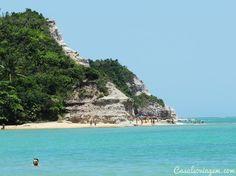 Falésias na Praia do Espelho - Costa do Descobrimento - Bahia, Brasil