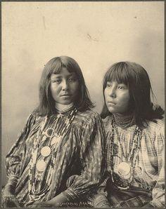 Brushing Against, Little Squint Eyes, (San Carlos Apaches) 1898