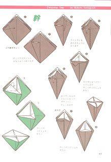 O QUE É MEU É NOSSO: Origami - Árvores de Natal (Christmas Trees), Cubos (Cubes), Estrela (Star)