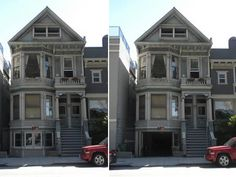 McMills Construction approached Beausoleil Architects for help installing a garage in the bottom floor of a property on Oak Street in San Francisco's Upper Haight district in order to maximize the tenant's rent. By hiding the space behind a retractable facade indistinguishable from the rest of the historic Victorian apartment house, they were able to avoid running afoul of the city planning department strict appearance codes.
