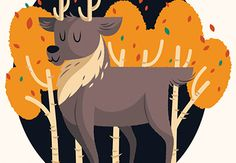 TUTORIAL | TUTS+ | Create a Cute Deer Illustration in Adobe Illustrator