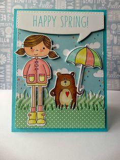 Scrappy Corner: Tarjeta Happy Spring