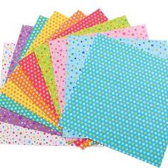 Papier origami Etoiles Double-face